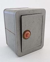A mid 20thC American Mosle Junior bank vault money box safe