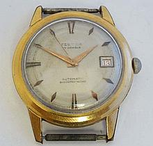 Festina : a gentleman's Automatic gold plated wrist watch w