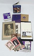 A collection of British Royal memorabilia including a 19 vo
