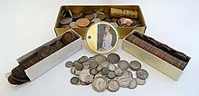 Coins: large quantity of assorted coin 19thC and 20thC. tog