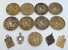 A collection of 11 early 20thC Horticultural medals awarded