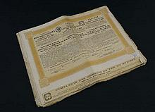 Approx 35 Imperial Russian share certificates or bonds in t