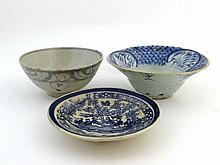18 / 19thC Chinese Ceramics : Three items to
