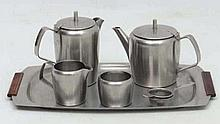 Vintage Retro: Robert Welch (1929-2000) for Old Hall, a Stainless Steel tea