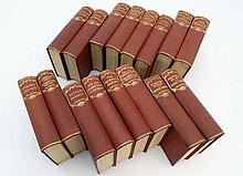 Books: A set of 16 books by Charles Dickens. To include: ''Nicholas Nickleb