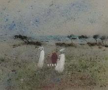 Gabrielle Bellocq (1920 -1999),   Impressionist pastel,