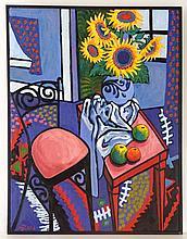 Maria Cool(1933-) Australian / Dutch Oil on canvas