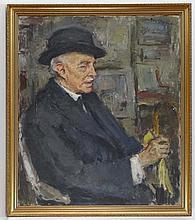Joseph Oppenheimer (1875-1966) Oil on canvas