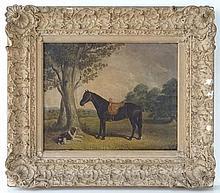 XIX English School Oil on canvas laid on board