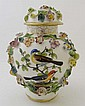 A late 18thC / early 19thC Meissen ? porcelain jar