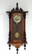 Vienna Wall Clock : a Badische Uhrenfabrik an early 20 thC signed ( B withi