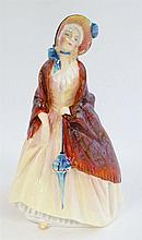 A Royal Doulton figurine '' Paisley Shawl '' HN1988, bears factory stamp to