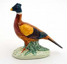 A Beswick model formed as a standing pheasant , number 767B , stamped to ba