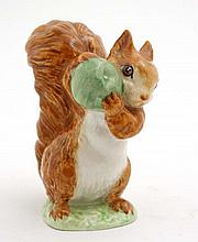 A Beswick '' Beatrix Potter '' model formed as '' Squirrel Nutkin '' , 1948