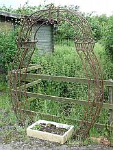 Garden & Architectural: an impressive 21stC Garden shaped Arch ( ideal for