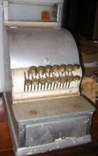 Small 19th Century County Store Cash Register