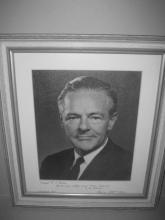 Signed Photo of Henry Cabot Lodge