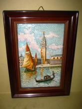 Italian Murano Micro Mosaic Picture