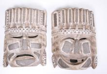 Oriental Carved Mask