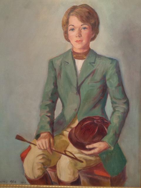 James Rea, Portrait on Canvas
