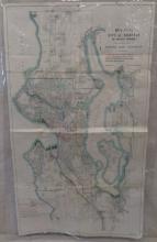 Municipal Plans Commission Map of Seattle 1911