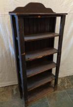Antique Hand Made Mission Style Bookcase