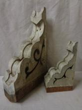 Two Antique Architectural Corbels