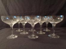 Orrefors Prelude Champagne/ Sherberts, Set 8