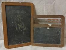 Antique School slates