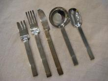 Russel Wright  Silver Plate Flatware Set