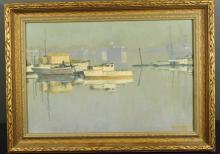 Louis McManus (1898-1968) Oil on Artist Board