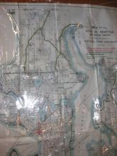 Map of City of Seattle 1911