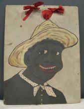 1908 Folk Art Portrait