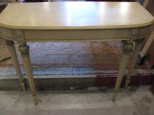Wall Mount Painted Console Table