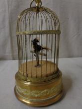 Automaton Singing Bird in Cage