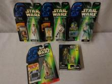 5 Power of the Force Figures New in Box