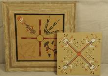 Two Indian Sand Paintings