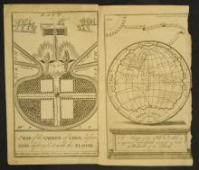 Two 1730's Gents Magazine Map Etchings