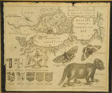 Circa 18th Century Map of Halifax