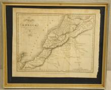 1821 Map of The Empire of Morrocco
