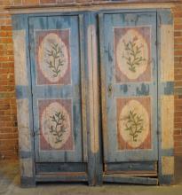Early 19th C. Scandanavian Storage Cabinet
