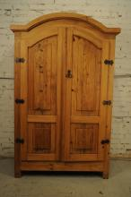Rustic Mexican Solid Pine Cabinet