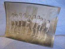 Vintage Photo Women's 1931 Basketball Team