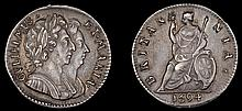 BRITISH COINS, William and Mary (1688-1694)