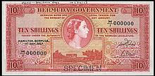 A Good Group of Specimen Banknotes