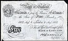 British Paper Money From Various Properties