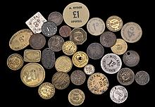 British Tokens and Checks, the Property of A Gentleman