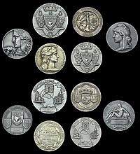 French Historical Medals In Silver, From the Collection Formed By James Spencer