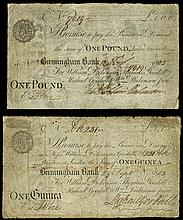 British Paper Money From Various Properties
