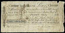 Irish Paper Money From Various Properties